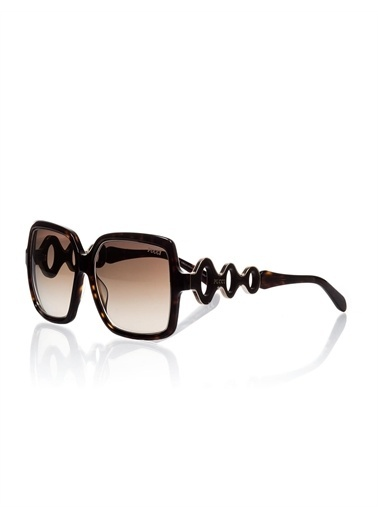 Emilio Pucci  Ep 0040 52F Kadın Güneş Gözlüğü Kahve